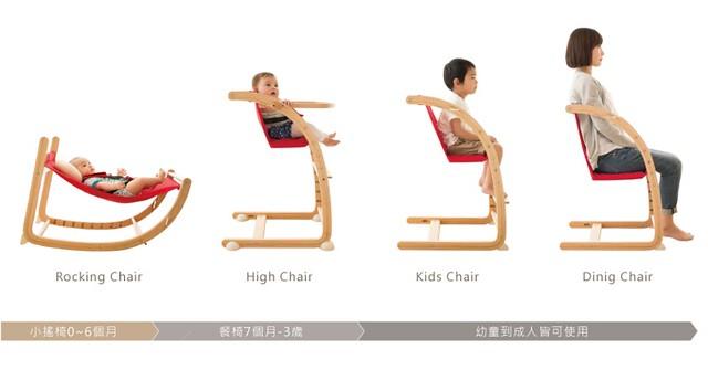 färska實木陪伴成長椅