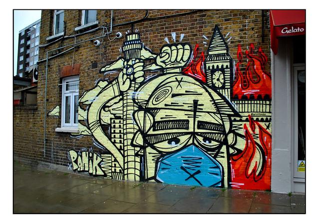 LONDON STREET ART by PANIK.