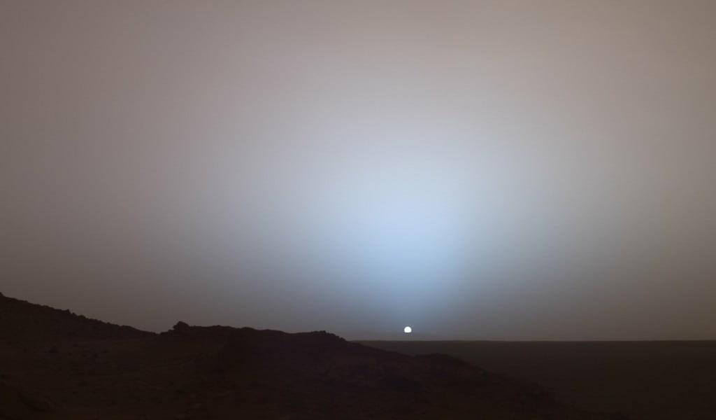 La croute de Mars aurait absorbé son eau