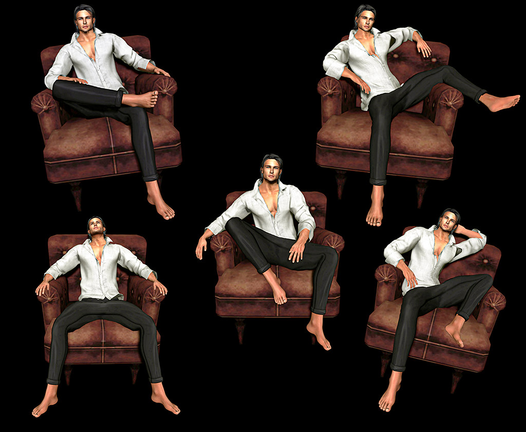 *AAP* Male Poses set 04