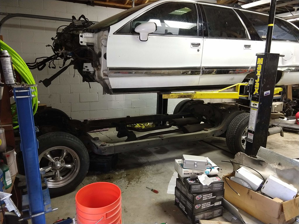 Swapping a 6.6l Duramax/Allison into a '94 Roadmaster Wagon - The Duramaxster 51045003833_50a99ee8f2_b