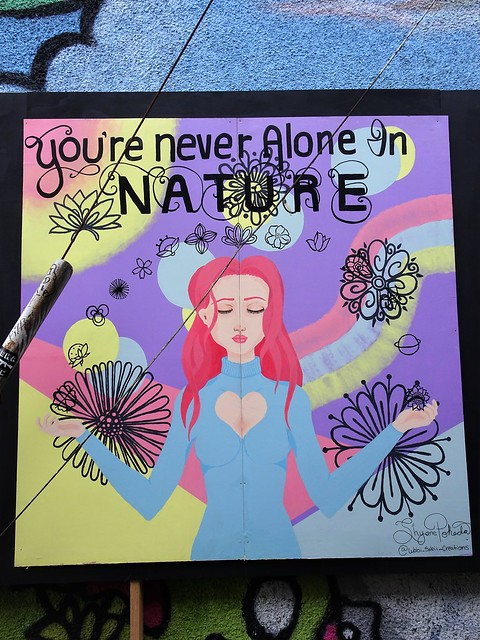 You're Never Alone in Nature
