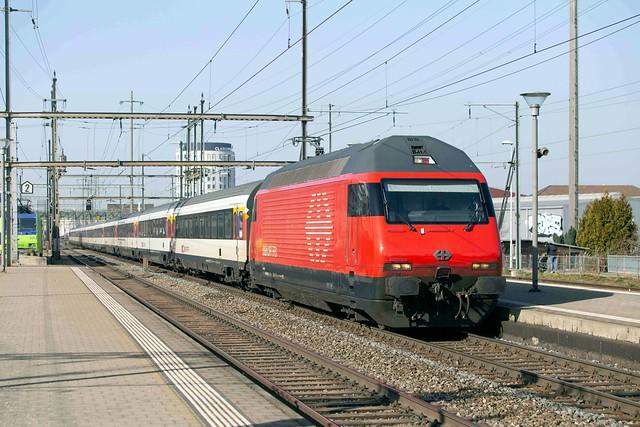 SBB Re 460 042 Pratteln