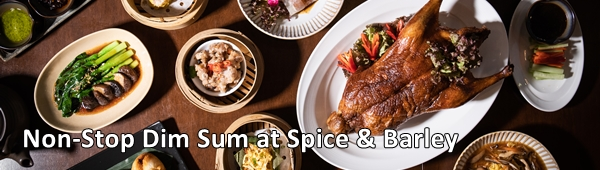 Non-Stop Dim Sum at Spice & Barley