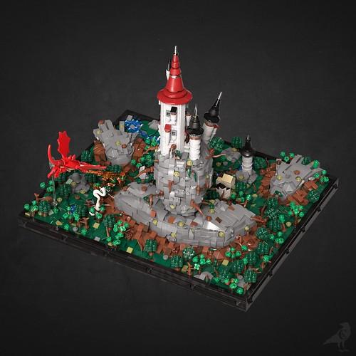 Fantasy Diorama - Back