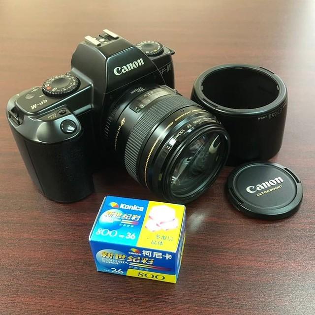 Canon EF 100mm f2 廉價又高質的F2 百段金圈鏡