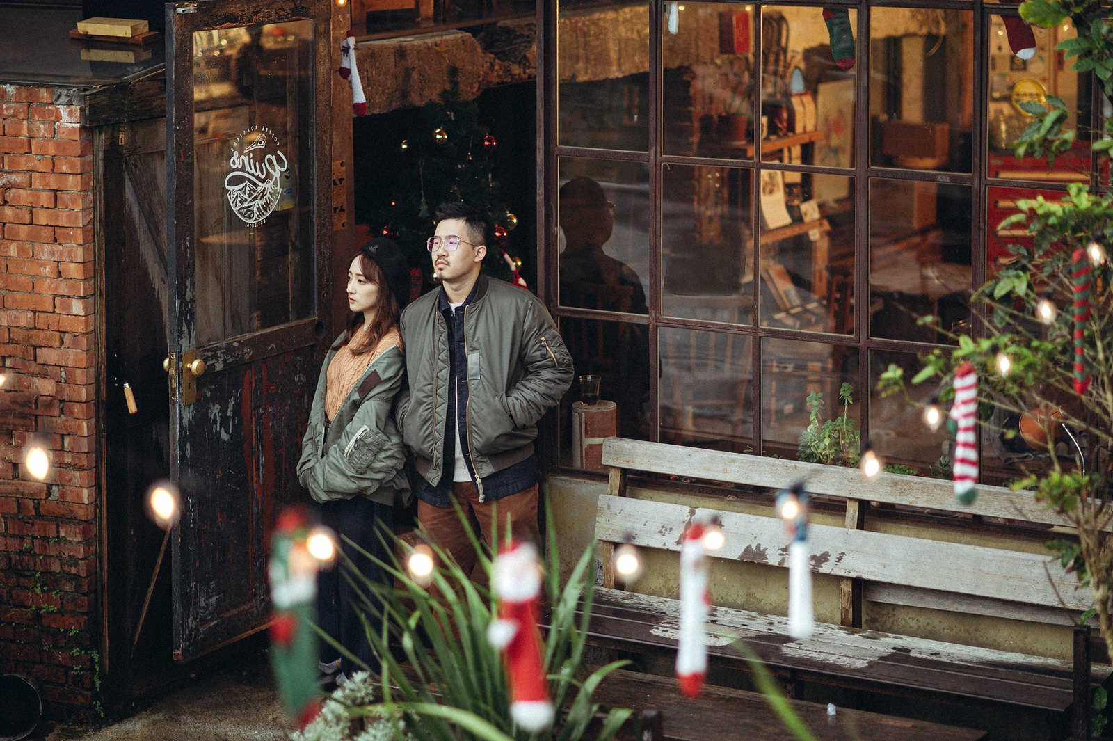 【婚紗】Paul & Gin / Ruins Coffee Roasters / 小廢墟咖啡