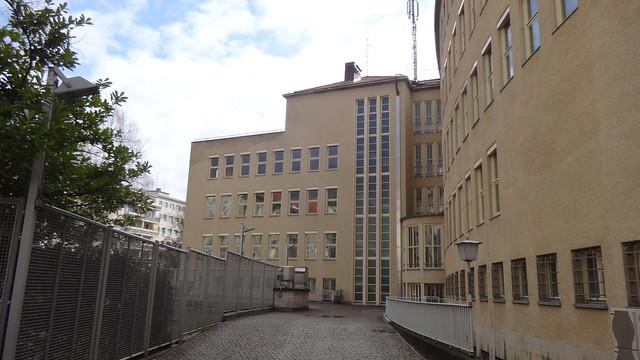 1935/36 Berlin Hofseite Nordstern-Versicherung von Otto Firle Hohenzollerndamm 180/Fehrbelliner Platz 2 in 10707 Wilmersdorf