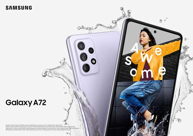 Galaxy A72_Key visual