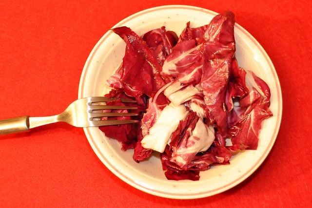 März 2021 ... Überbackener Schafskäse-Feta mit Mittelmeergemüse, dazu Radicchio-Salat ... Brigitte Stolle