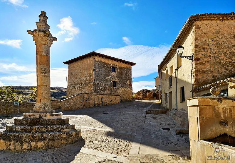 Visitando Caracena y su castillo (2)