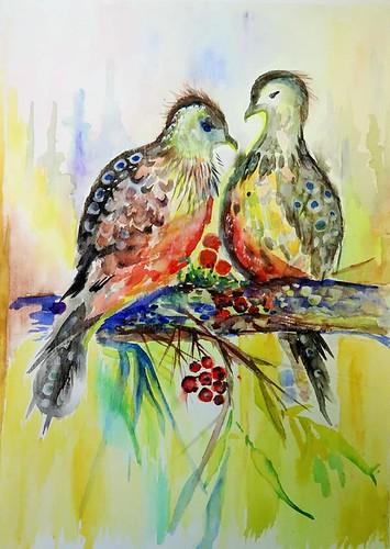 akvarelis