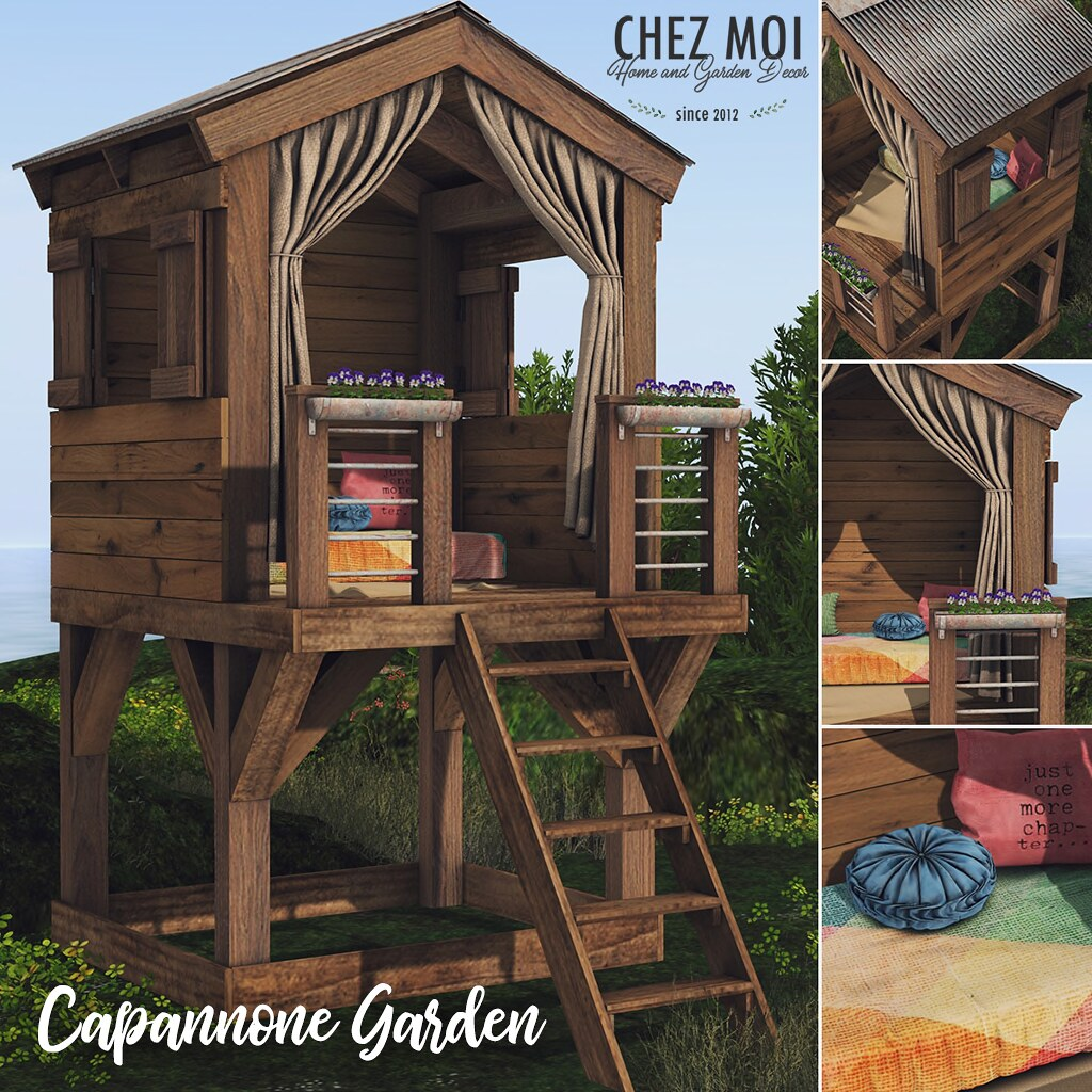 [Chez Moi] Capannone Garden For Spring Deco(c)rate!