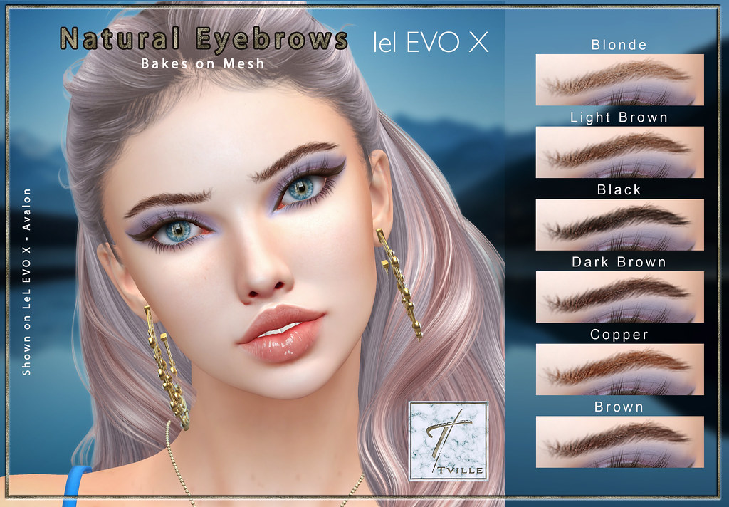 Tville –  Natural Eyebrows BoM for Lel EVO X