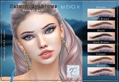 Tville -  Natural Eyebrows BoM for Lel EVO X