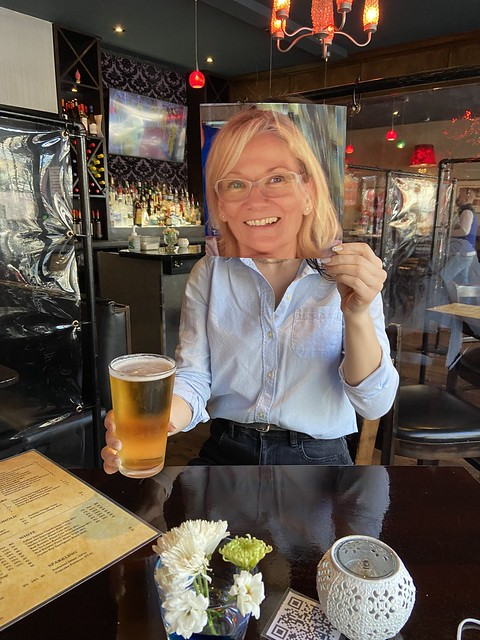 Because of the global pandemic not everyone is fortunate enough to visit their Little Brown Friend at their local bar or pub. So my LBF suggested we invite a previous Chaise patron to join us today as our virtual guest.