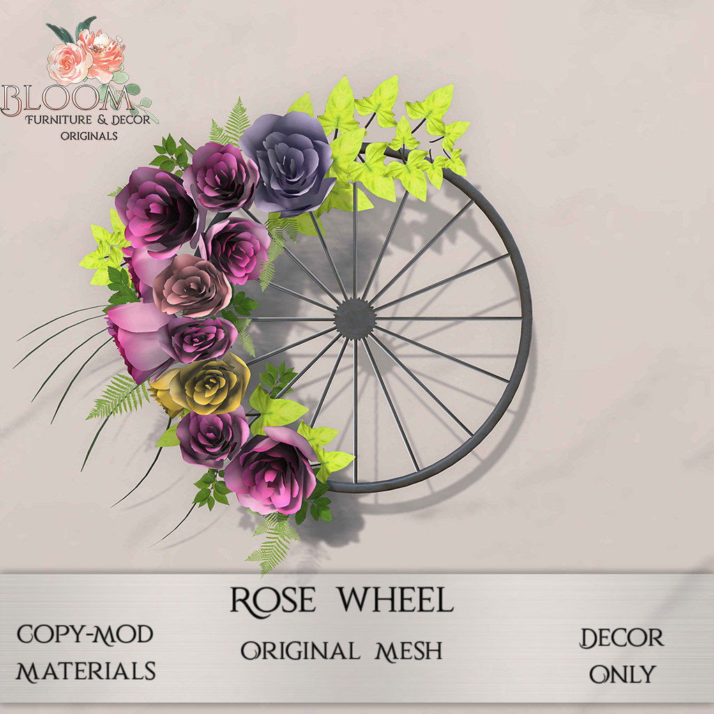 Bloom! – Rose WheelAD