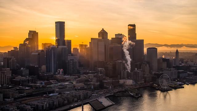 Seattle Sunrays DJI Inspire 2