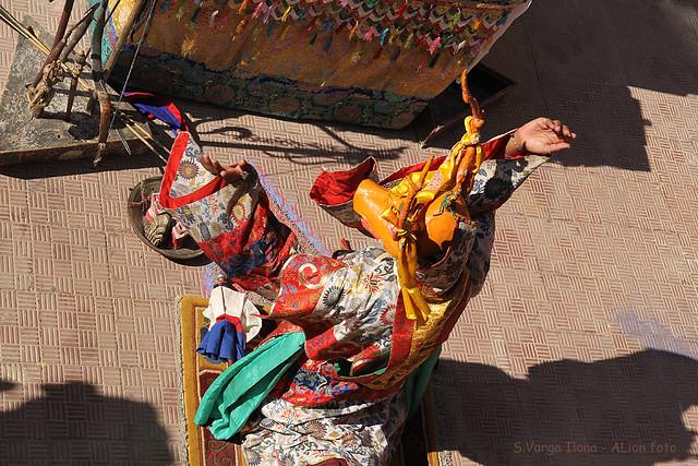 Cham tánc - Szarvas rituáléja / Cham mask dance - ritual of deer