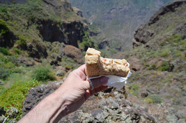 Tuna sandwich, Gran Canaria