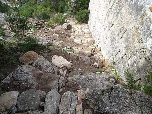 Situation des travaux du Ponti di Marionu après l'operata du 14/03/2021