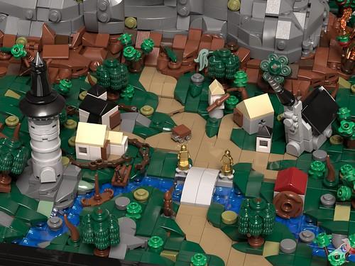 Fantasy Diorama - Village