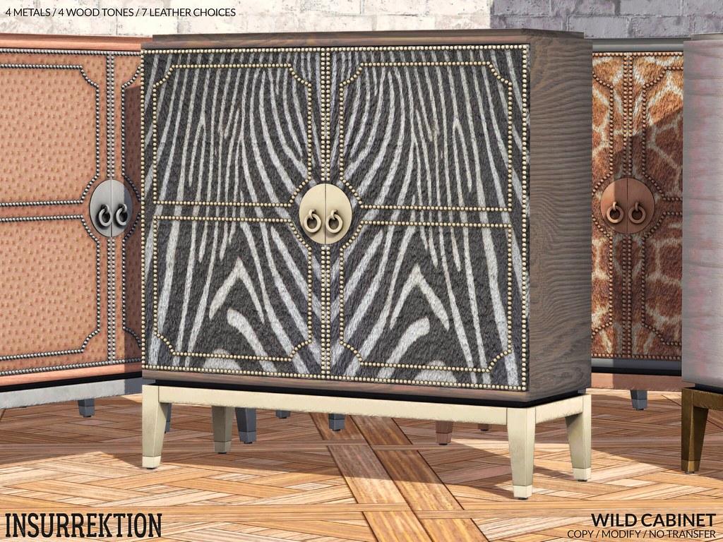 [IK] Wild Cabinet - POSTER