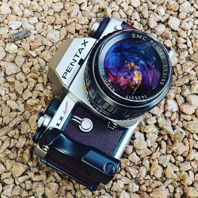 Pentax M 50mm f1.2 元祖笨仔夜神