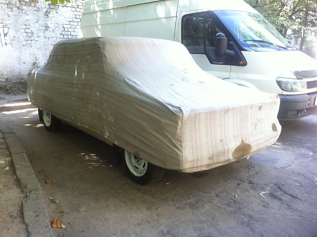 vaz 2105  covered  sovet car cover
