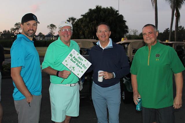 2021 St. Patrick's Day Golf Open