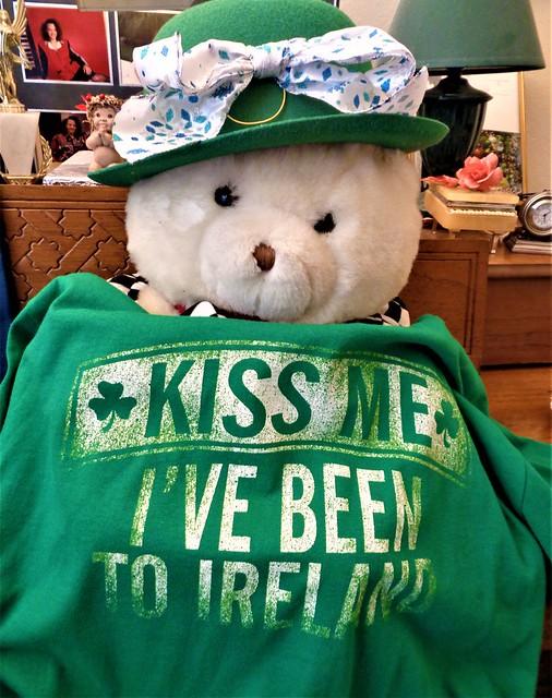 KISS ME I'VE BEEN TO IRELAND--HTBT