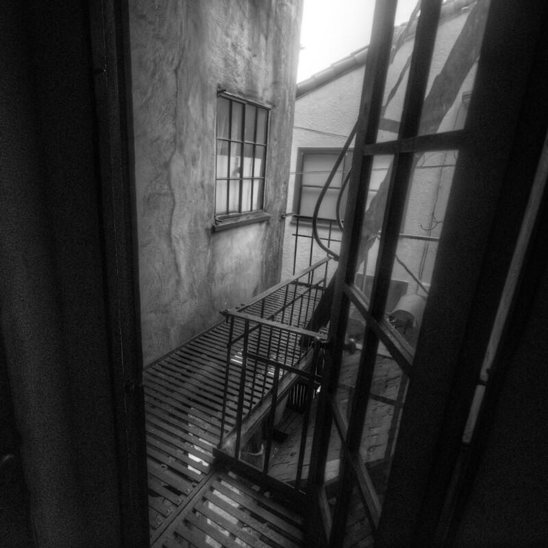 Noir Fire Escape