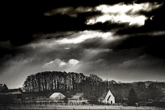 Landscape in black & white