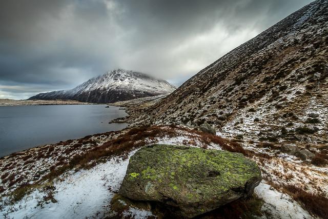 Snowy Llyn Idwal