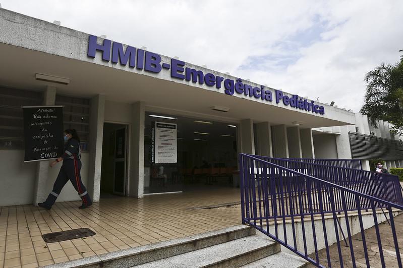 Hmib torna-se referência para atendimento pediátrico a casos de Covid-19 (17.03.2021)