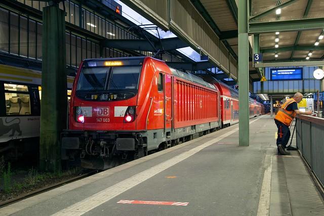 DB Regio 147 002 Stuttgart Hbf