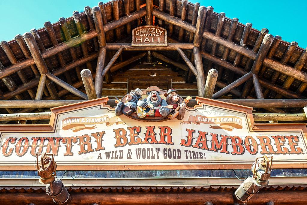 Country Bear Jamboree CBJ facade MK