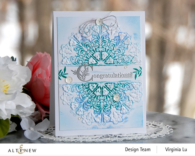 Altenew-Storybook Stamp-Ornamental Feature 3D Embossing Folder-001