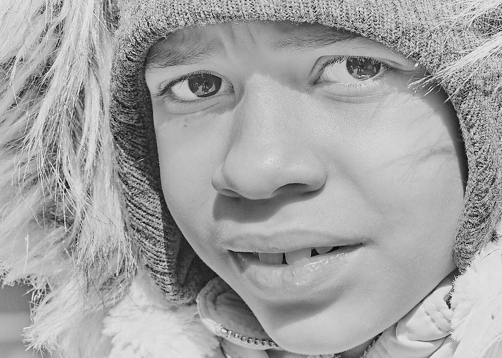 Cold Day Portrait