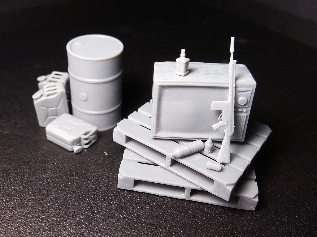 Hobi detay maket ve diorama aksesuarları