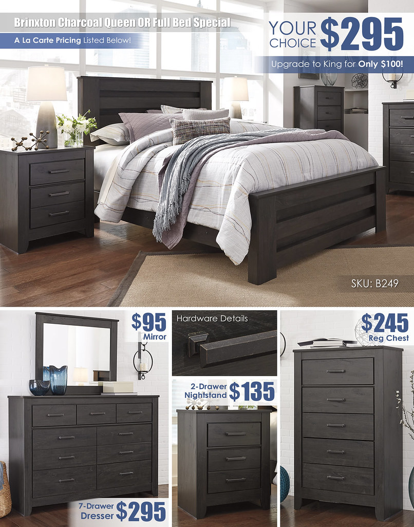 Brinxton Charcoal Queen Panel Bed_B249_Layout