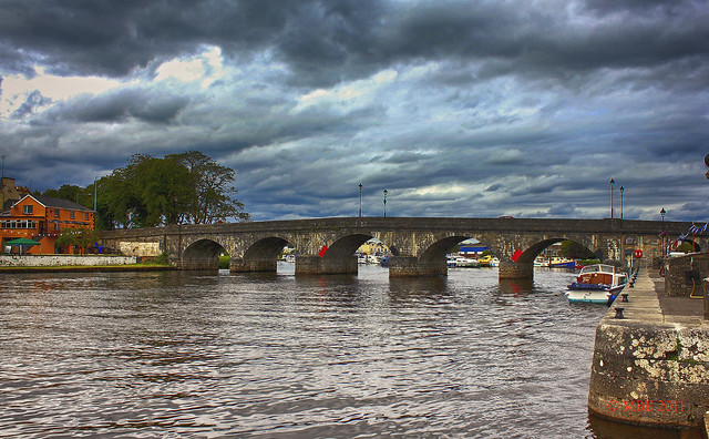 Stormy Skies over Carrick-on-Shannon, Co Leitrim