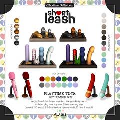 .:Short Leash:. Playtime Toy Shelf