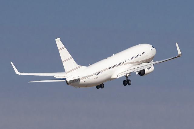 VP-COH Boeing 737-8DR(WL) BBJ2 32777 KPTK