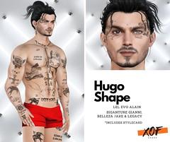 XOF - Hugo Shape