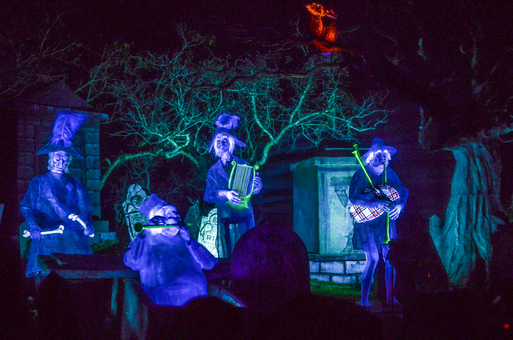 Haunted Mansion ghost band MK