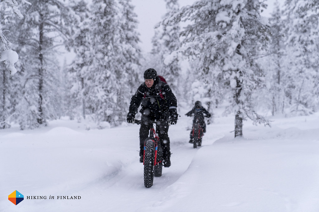 Guided riding with Janne from Lapland Safaris