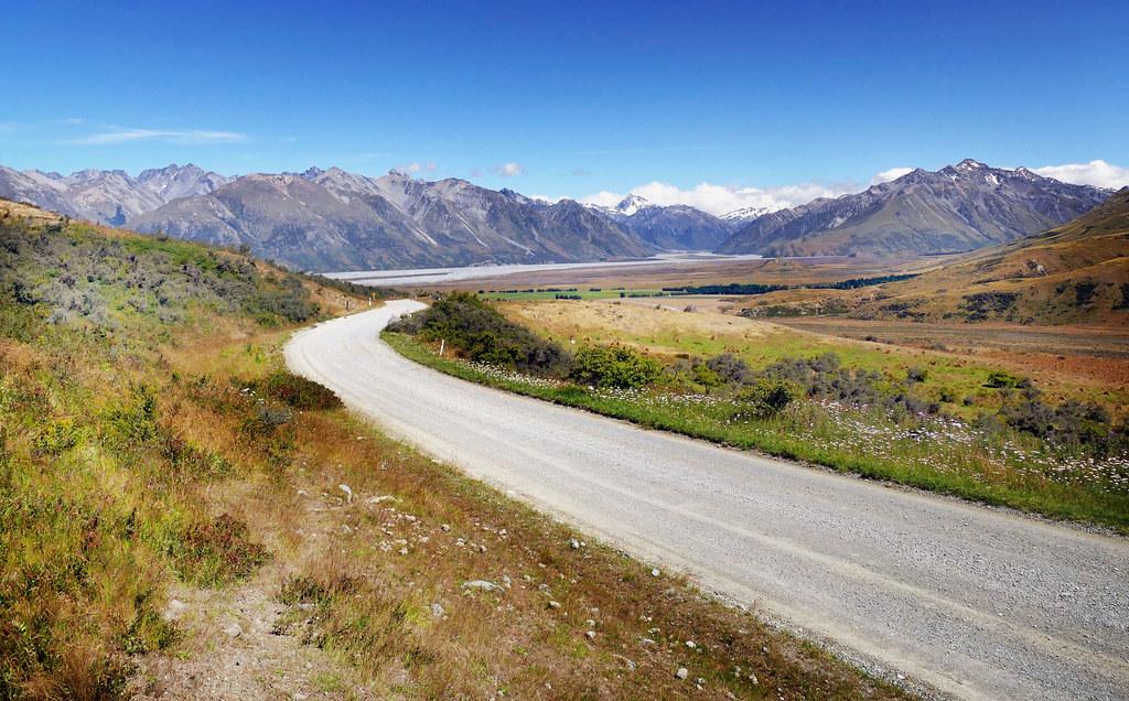 電影魔戒在紐西蘭的取景地之一。Bernard Spragg. NZ(CC0 1.0)
