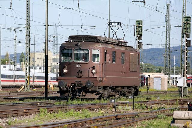 BLS Re 425 186 Basel Badischer Bahnhof