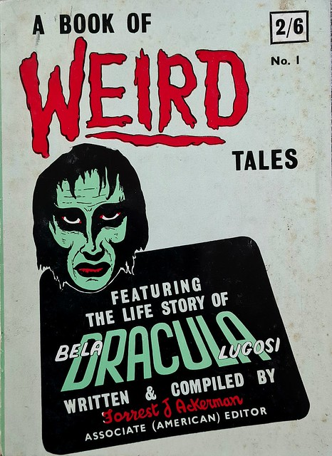 A Book Of Weird Tales - Veevers & Hensman Publishing - Vol 1 - No 1 - Forrest J. Ackerman - Aug 1960